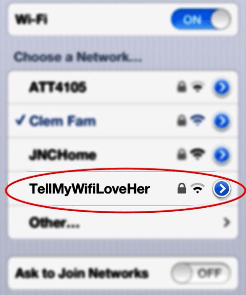 31 Funny Wifi Names Perfect For Messing With Your Neighbors Funny Wifi Names Wifi Names Funny Memes