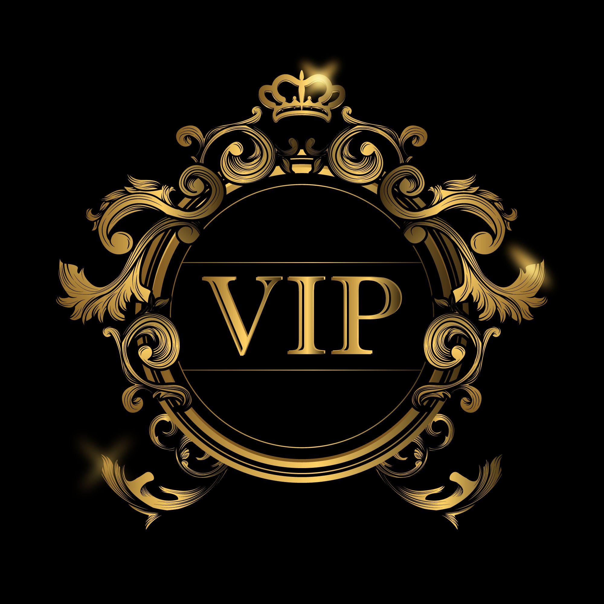 Vip logo by EURO DESIGN on LOGO DESIN | Background design