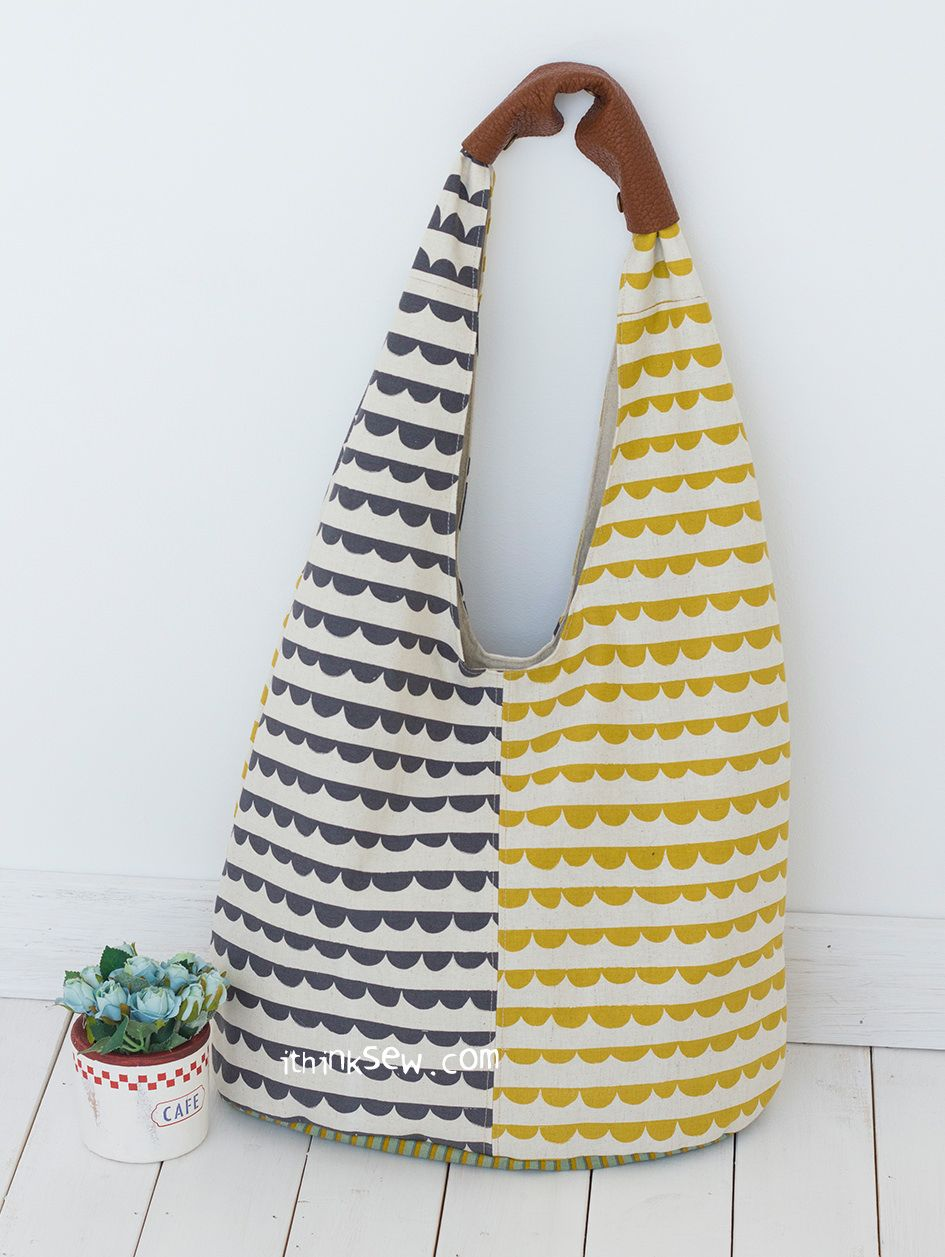 1046 Ellie Hobo Bag PDF Pattern - New Release Sale! 50% Off ...