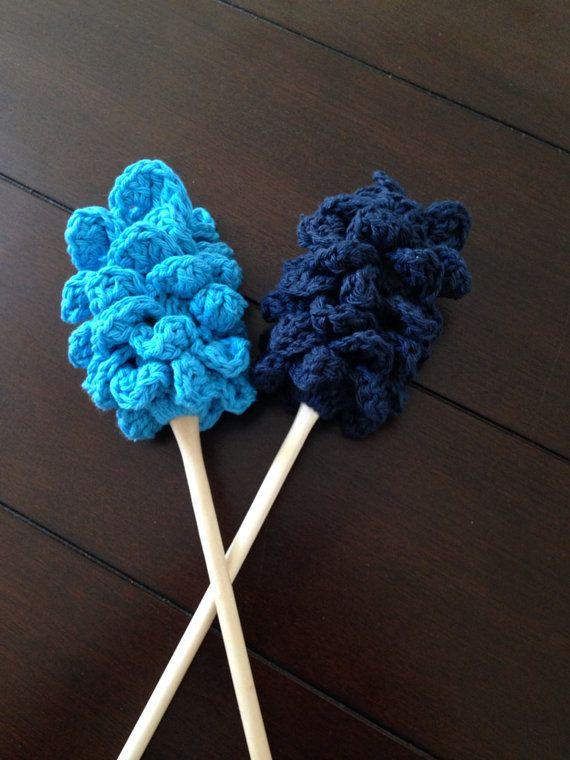 Crochet Bottle/Glass Cleaner Pattern on Etsy, $4.00