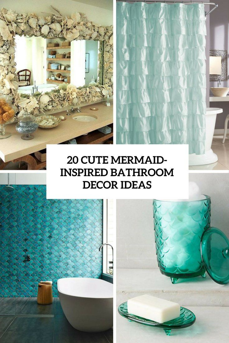 20 Cute Mermaid Inspired Bathroom Decor Ideas Jetzt Bestellen