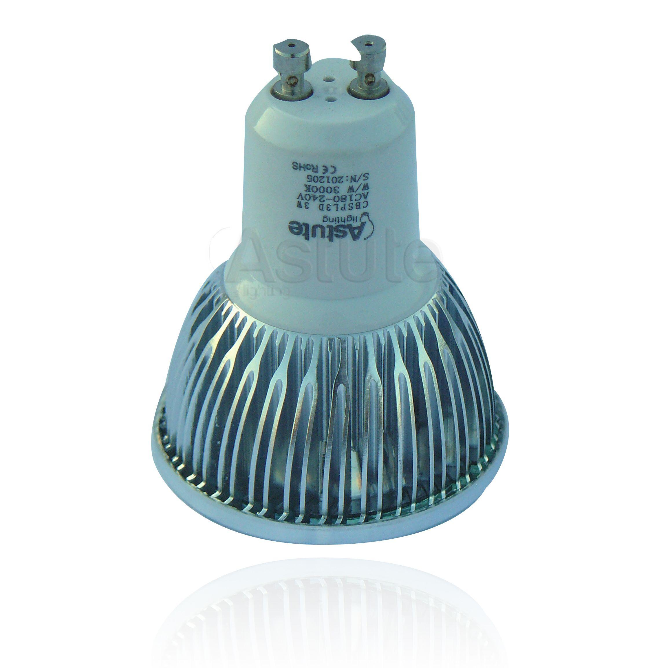 GU10 Led Bulbs Led bulb, Led spotlight, Bulb