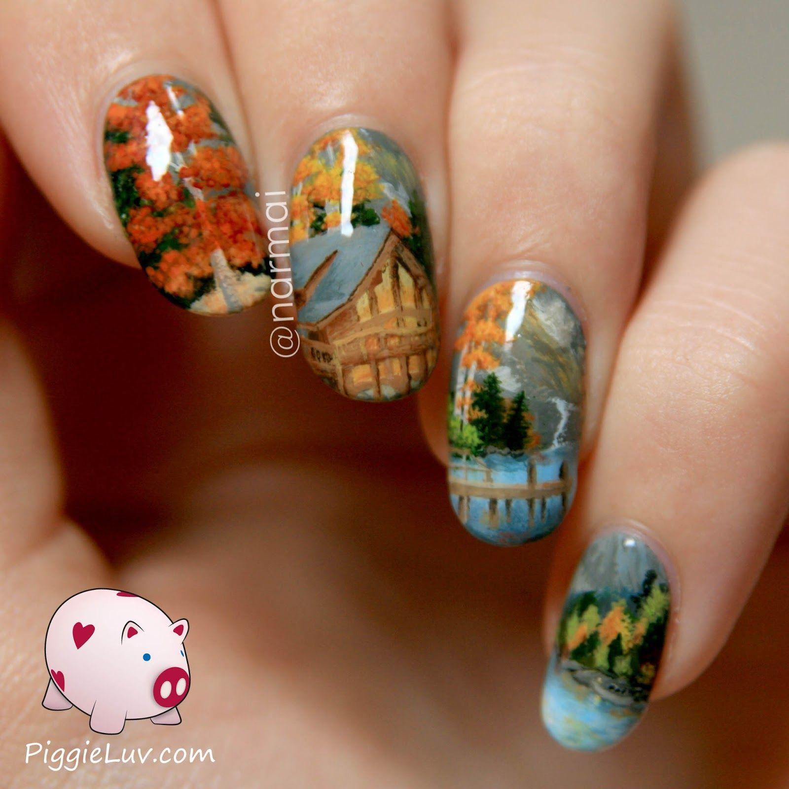 Nail art inspired by Chuck Pinson | Manicure, Beauty nails and Nail nail