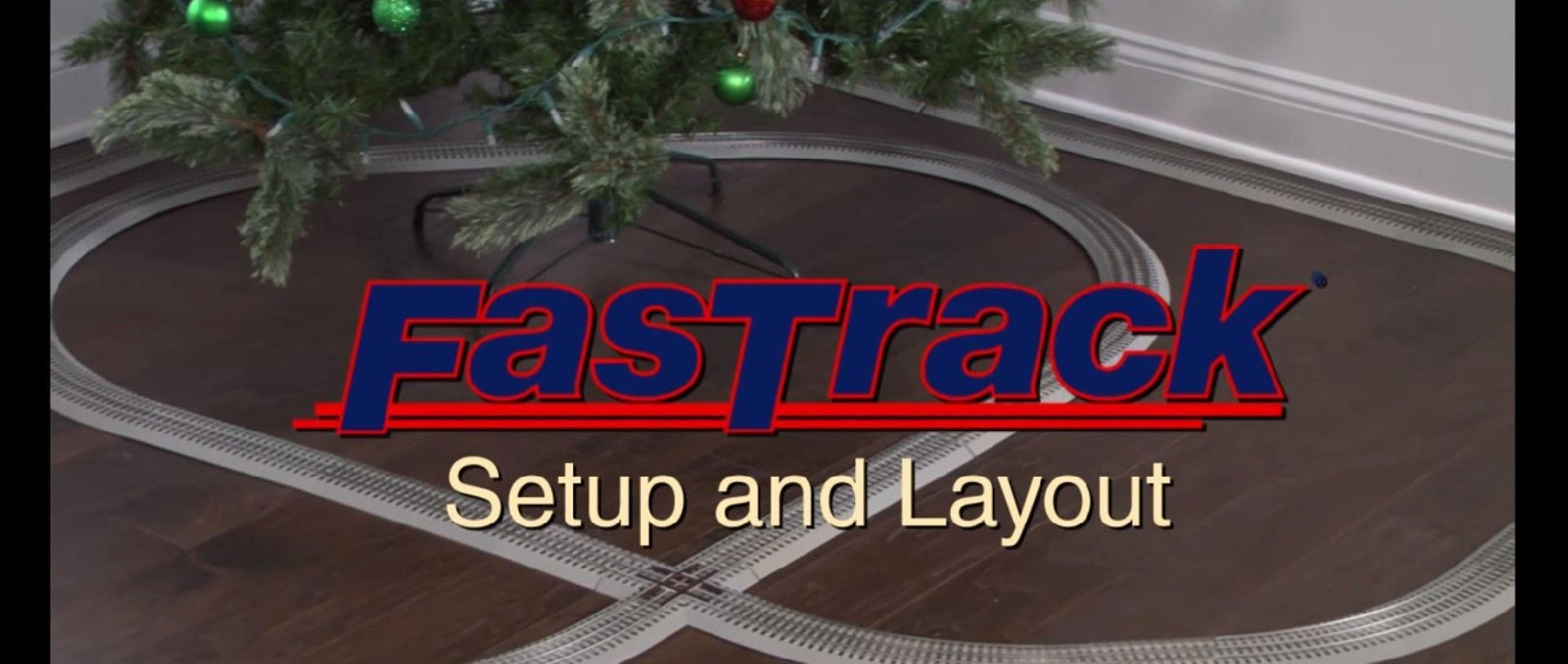 Lionel FasTrack Layouts Layout, Model trains, Toy trains set