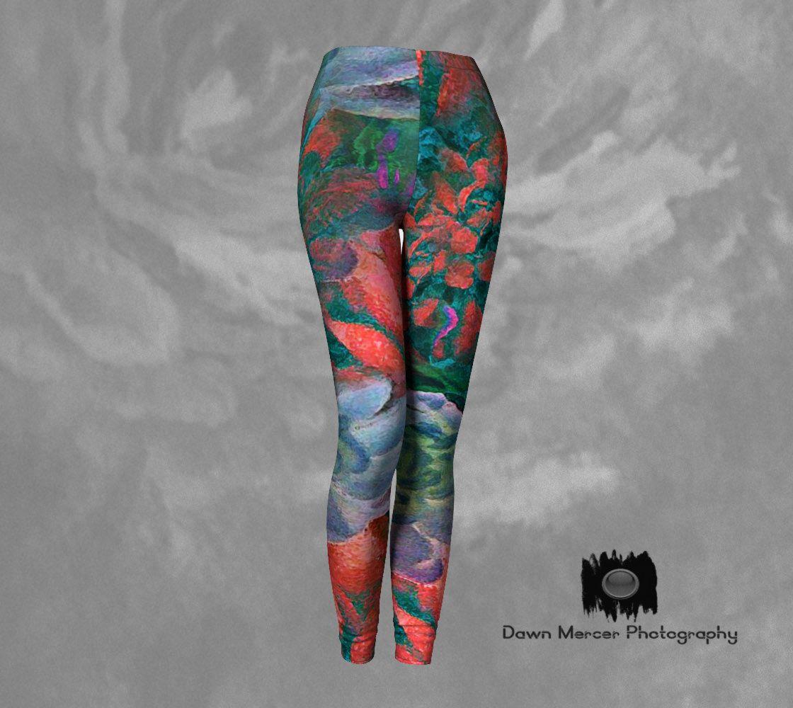 Abstract Art Leggings Festival Leggings Art Yoga Leggings Patterned Leggings Leggings for Women Cool Leggings