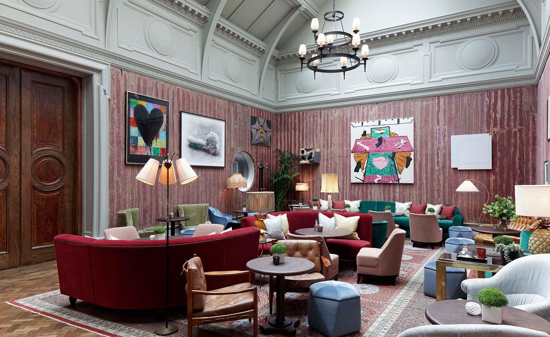 The Academician S Room Restaurant London Uk 01a 酒店 Lobby