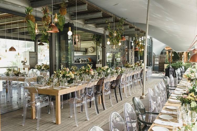 Beautiful wedding reception decor by The Aleit Group and wedding flowers by Fleur le Cordeur.  #luxuryweddingreceptiondecor #weddingflorals #floralrunners #luxurywedding #destinationweddingsa