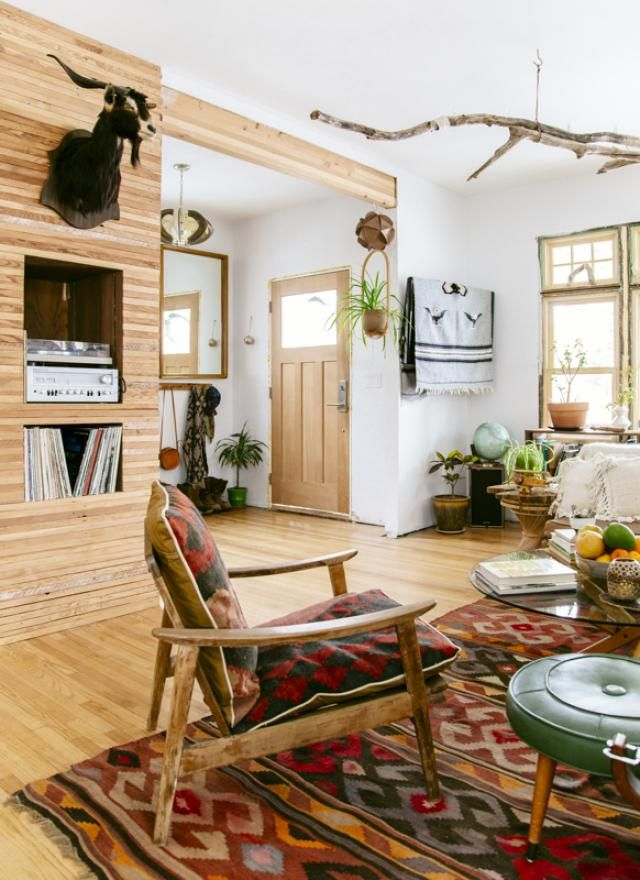 10 Designer Insights From Justina Blakeney's The New Bohemians: Wood Paneling Is In