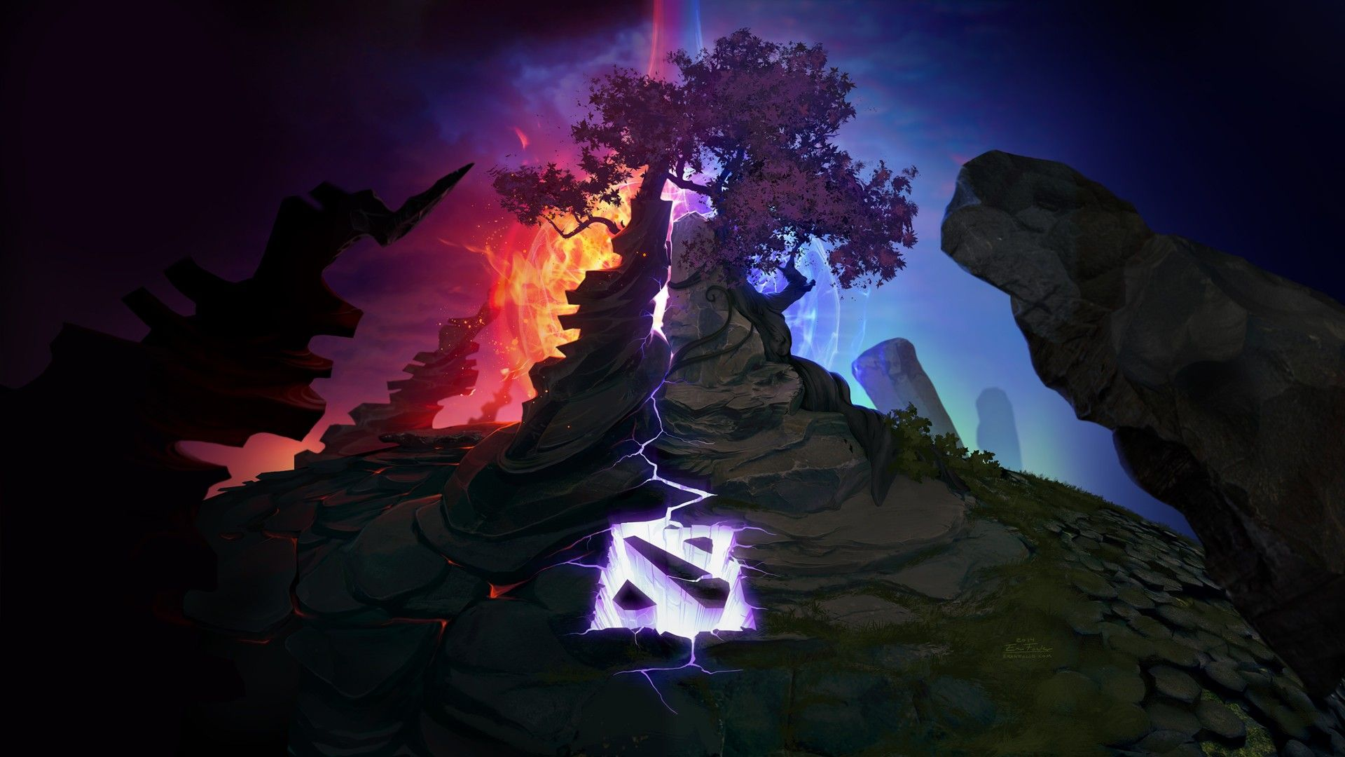 Dota Dota 2 Ancient Defense The Ancient Radiant Dire