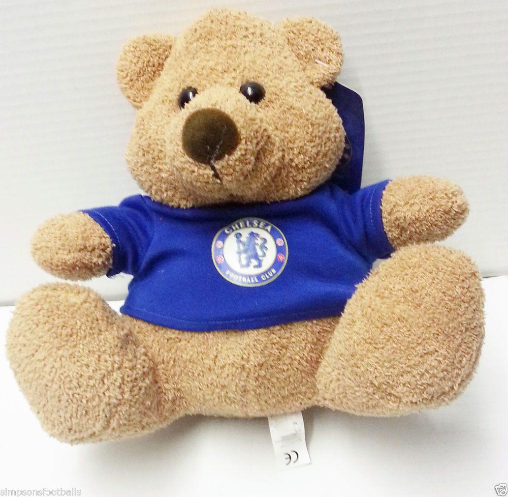 Manchester City FC Soft Cuddly Teddy Bear Football Club Birthday PRESENT GIFT