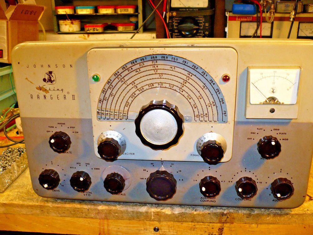Details about Johnson Viking II Ham Radio Transmitter Estate