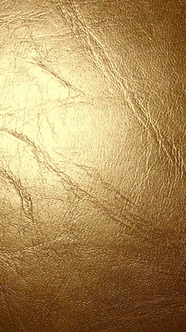 Wallpaper iphone gold - 750x1334 Wallpaper Leather Gold Glitter Cracks Texture