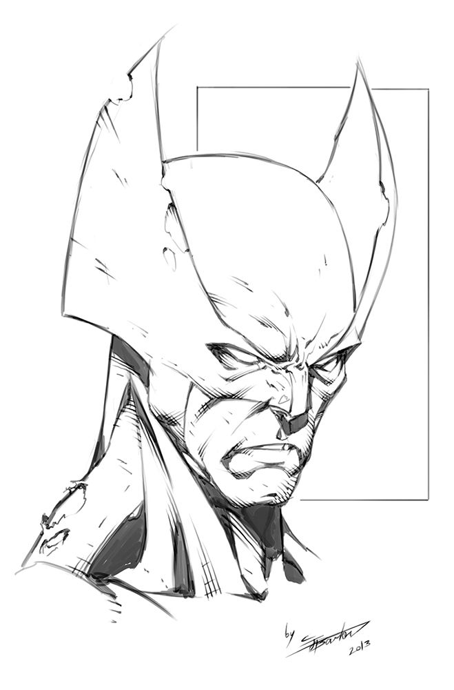 Wolverine - By Clayton Barton | coloring pages | Pinterest | Dibujos ...