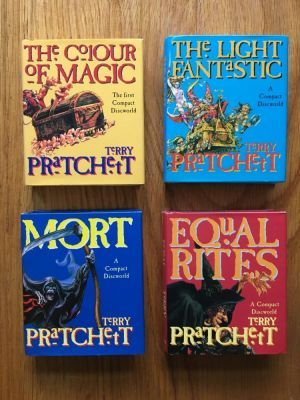 the compact discworld the colour of magic the light fantastic equal rites - The Color Of Magic Book