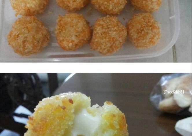 Resep Cheese Potato Bitterballen Oleh Yohana Febrita Resep Adonan Resep Kentang