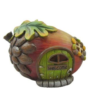 Fairy Garden Fall Acorn House With Led for our fairy garden I have this....