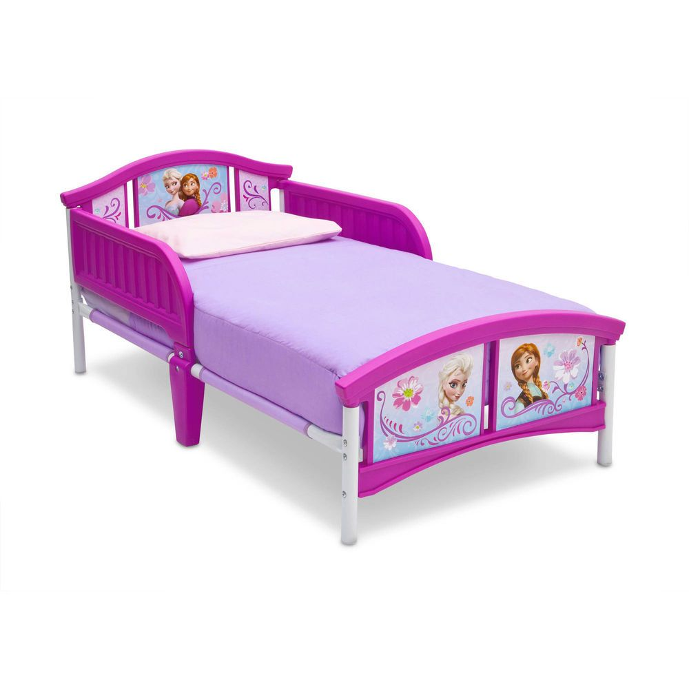 Toddler Bed Elsa Anna Disney Frozen Princess Bedroom Kids