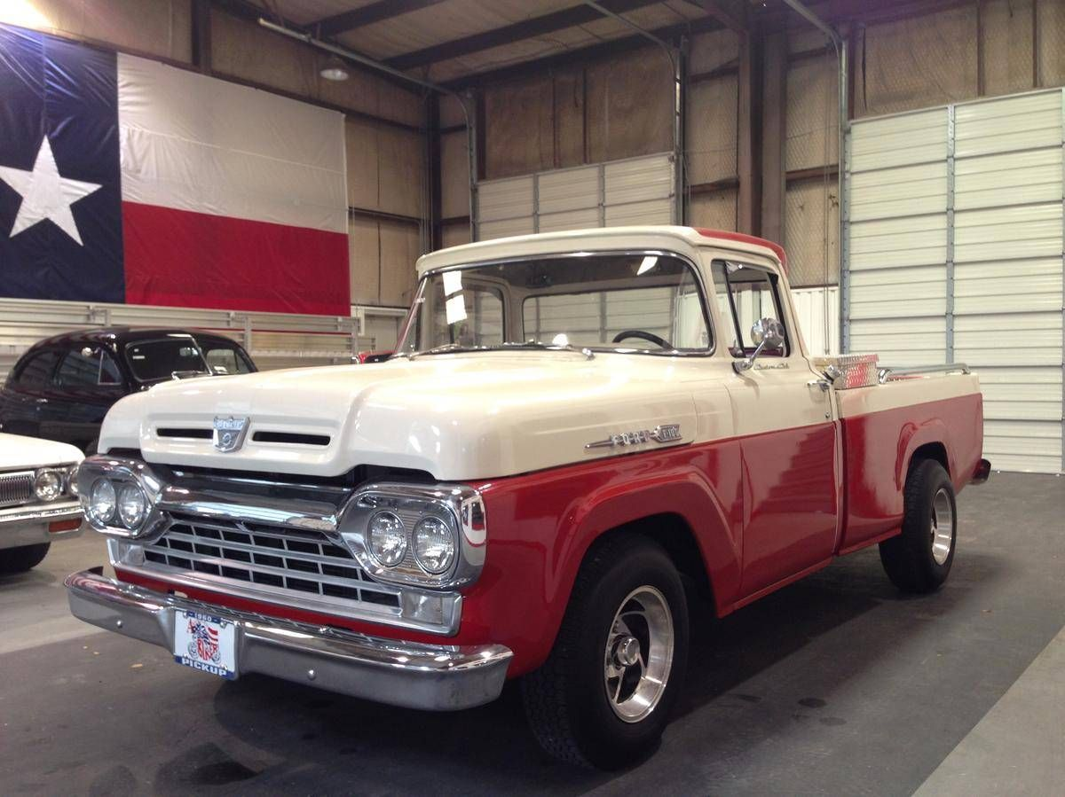 1960 Ford F100 For Sale Hemmings Motor News Ford Trucks Old