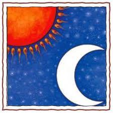 Die #Sonne und der #Mond