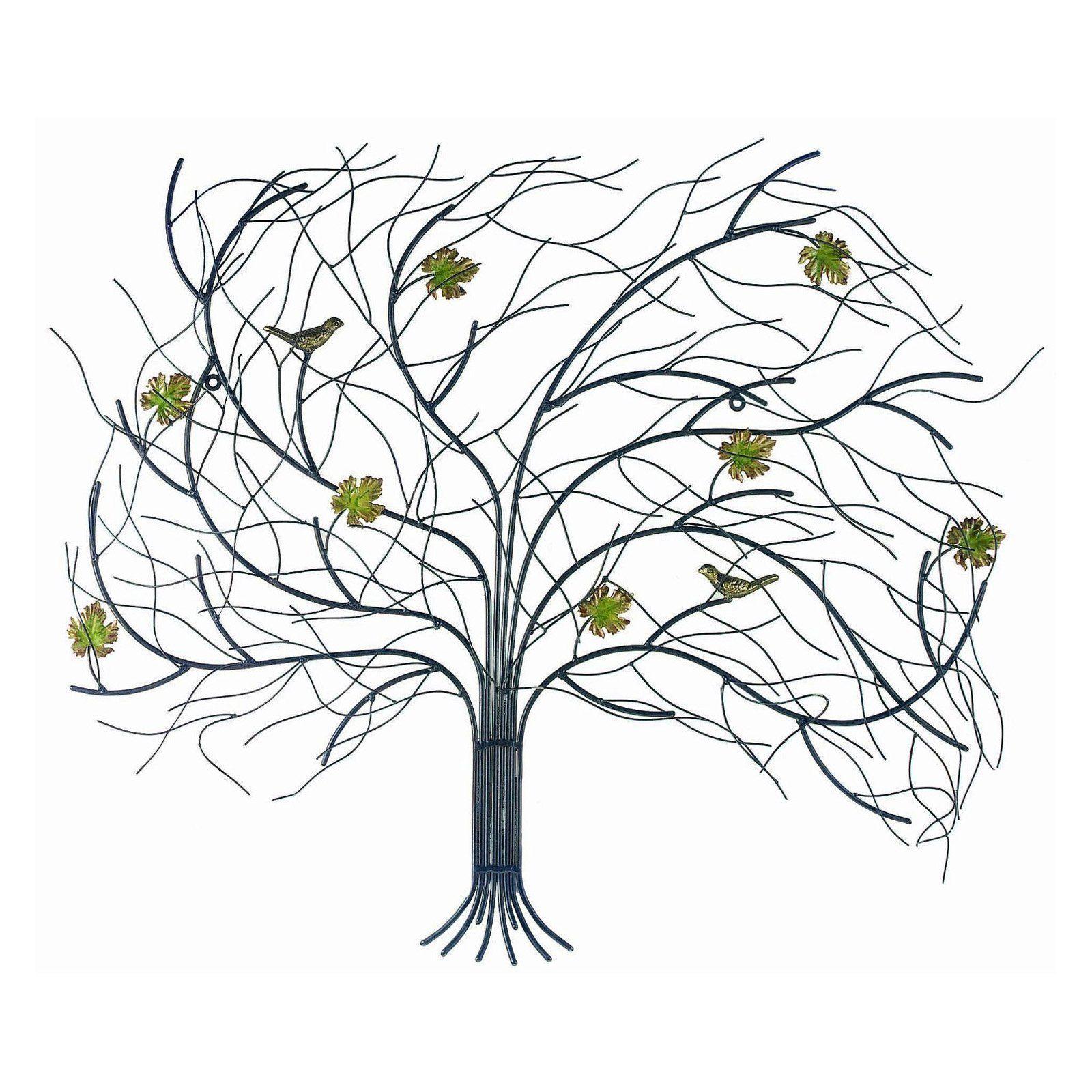 Gardman windswept metal tree wall art metal trees