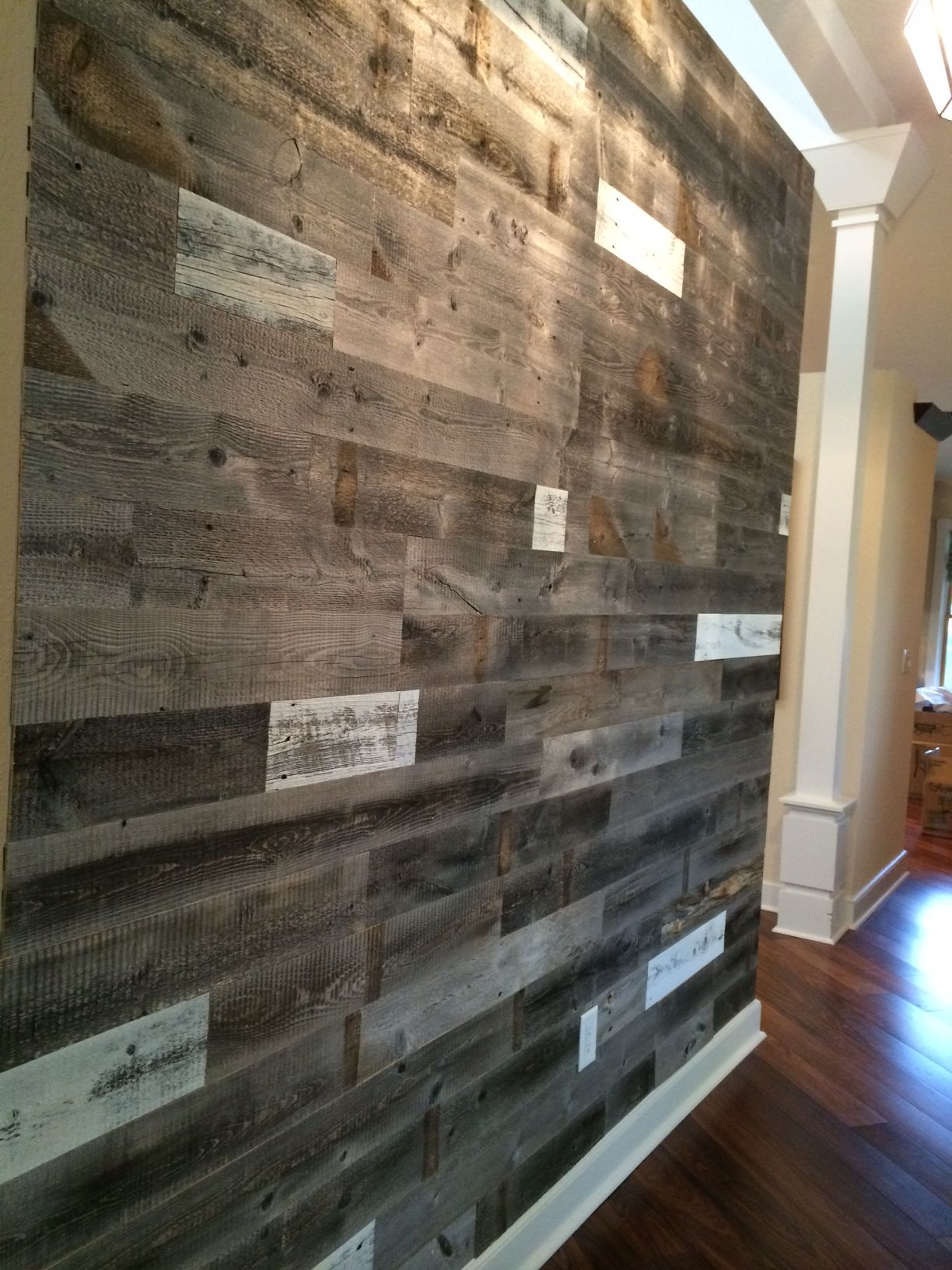 Reclaimed Weathered Wood Wood Feature Wall Weathered Wood Wood