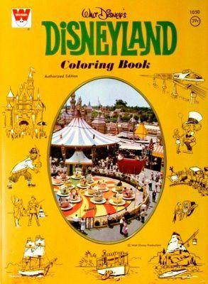 Disneyland Coloring Book Whitman