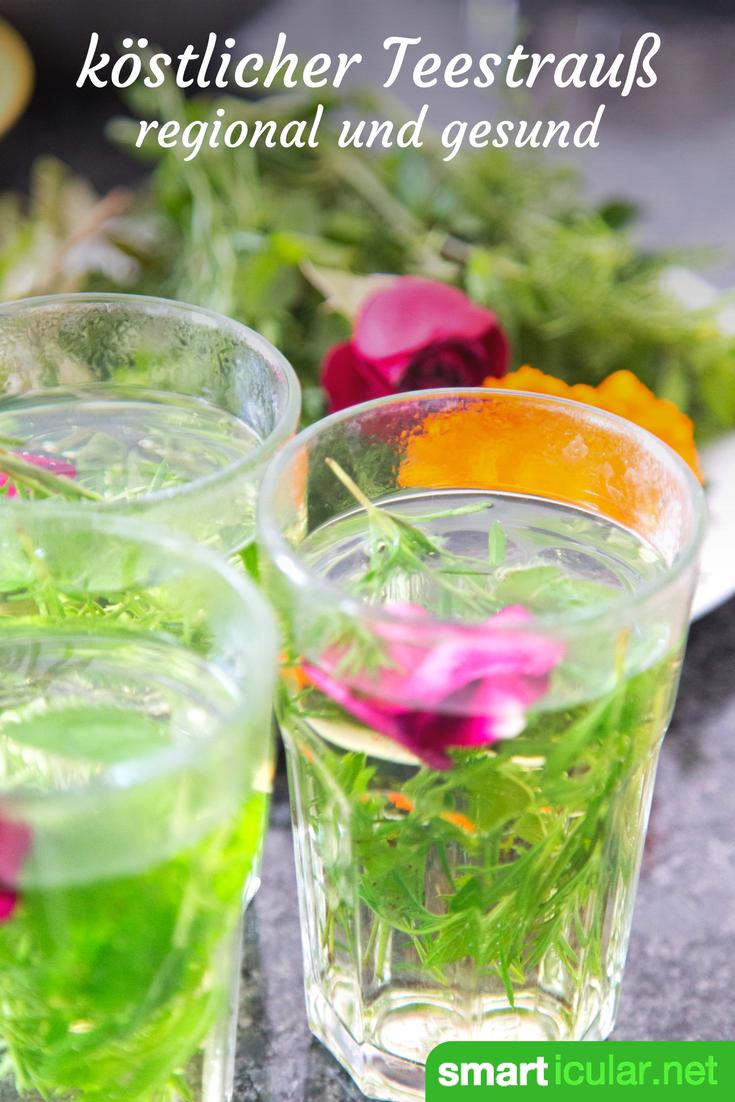 Teestrau statt Blumen Diese kstliche Alternative kann man sogar selbst pflcken  Gesnder