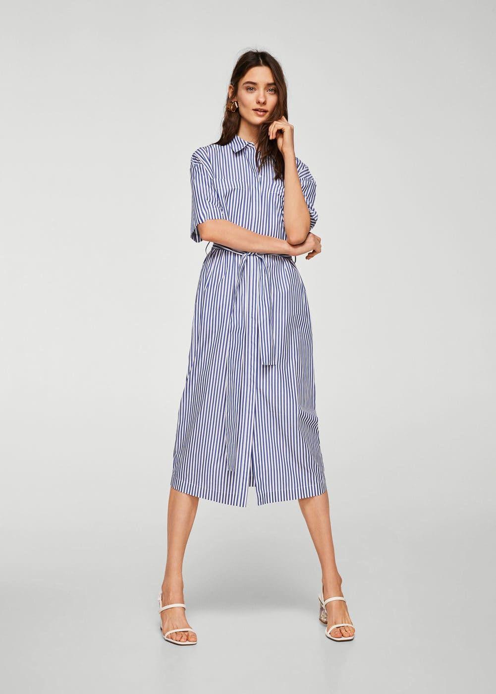 08a73d0739edd Koton gömlek elbise - Kadın | Dresses | Mango
