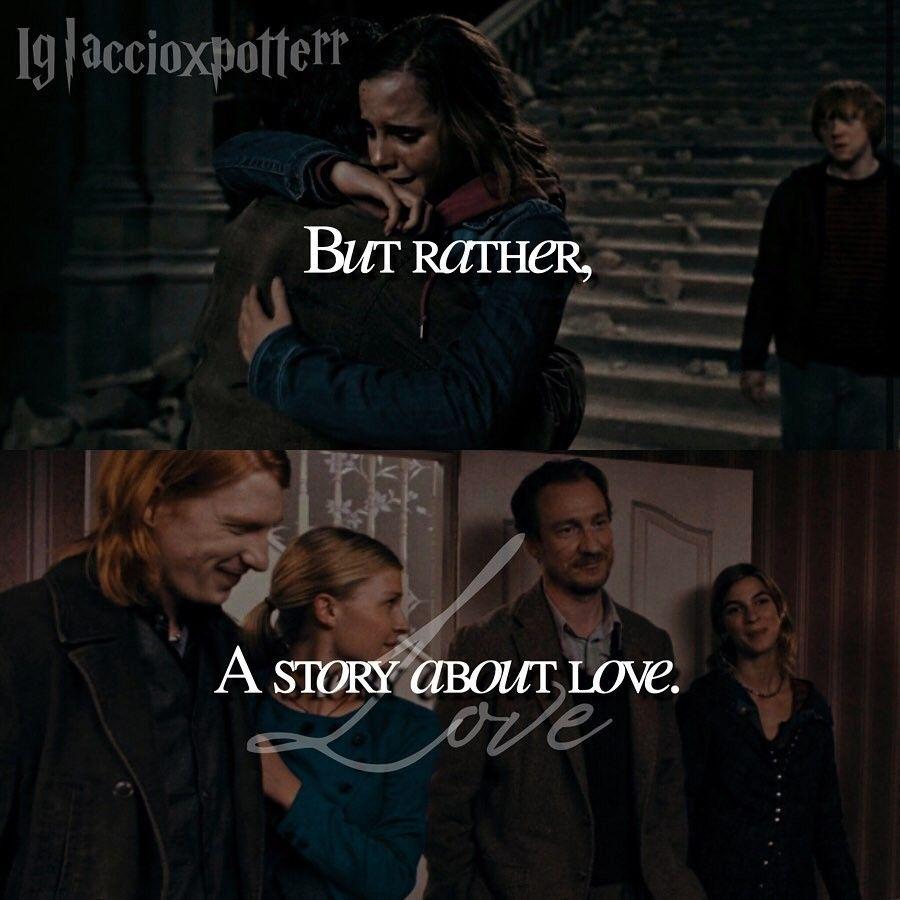 Love Story 2 2 Harry Potter Love Story Harry Potter Fan