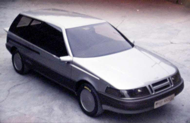 The Saab Fjord Concept Based On The Saab 9000 Https Www