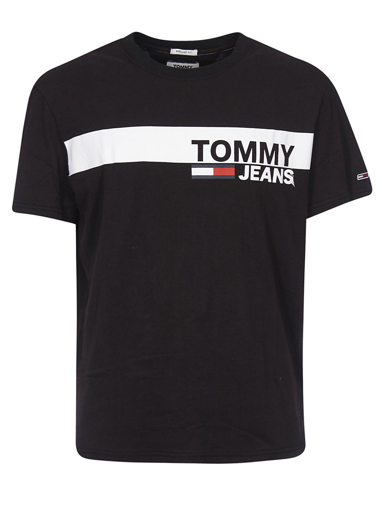 Tommy Hilfiger Essential Box Logo T Shirt Tommyhilfiger Cloth Tommy Hilfiger T Shirt Cool Outfits For Men Tommy Hilfiger