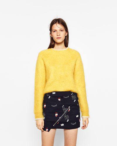 bcff5b5d8bd PRINTED MINI SKIRT | 2016 Fashion | Mini skirts, Skirts, Zara