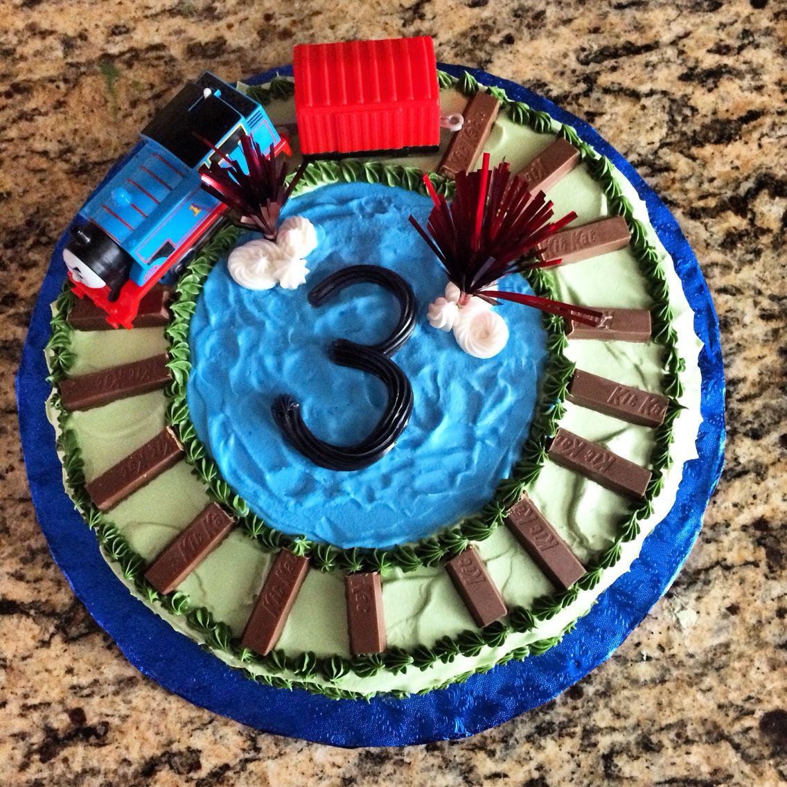 Thomas The Train Diy Cake