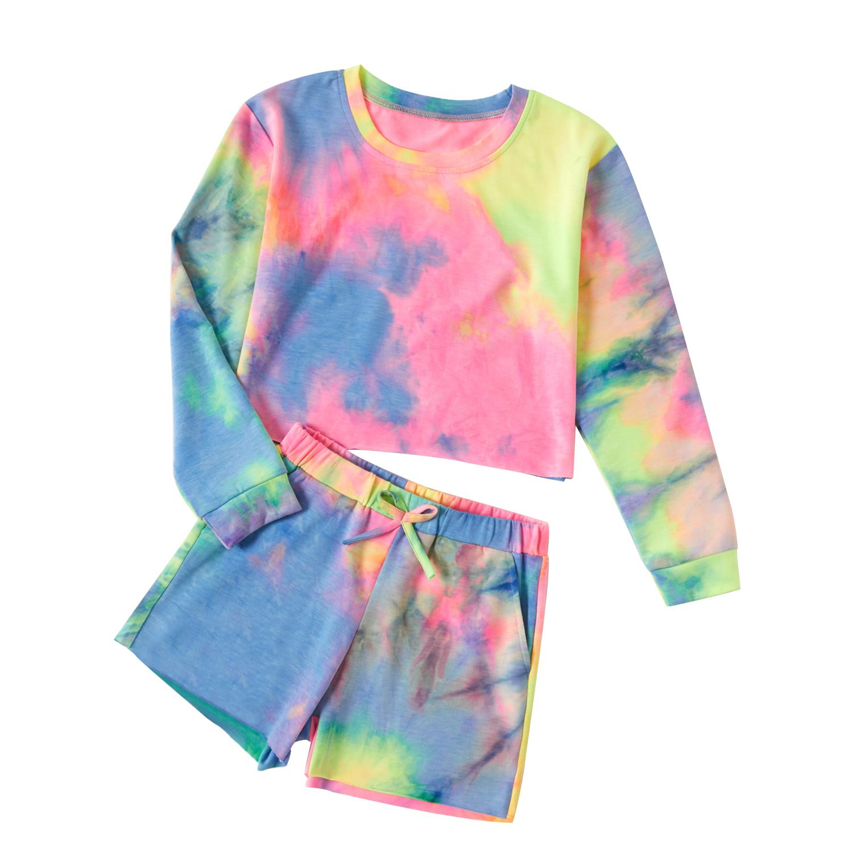 Patpat Patpat Kid Girl Tie Dye Sweatshirt And Shorts Set Walmart Com Walmart Com In 2021 Tie Dye Sweatshirt Short Sets Tie Dye [ 1500 x 1500 Pixel ]