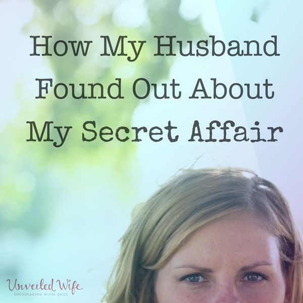 What to say to wife after affair