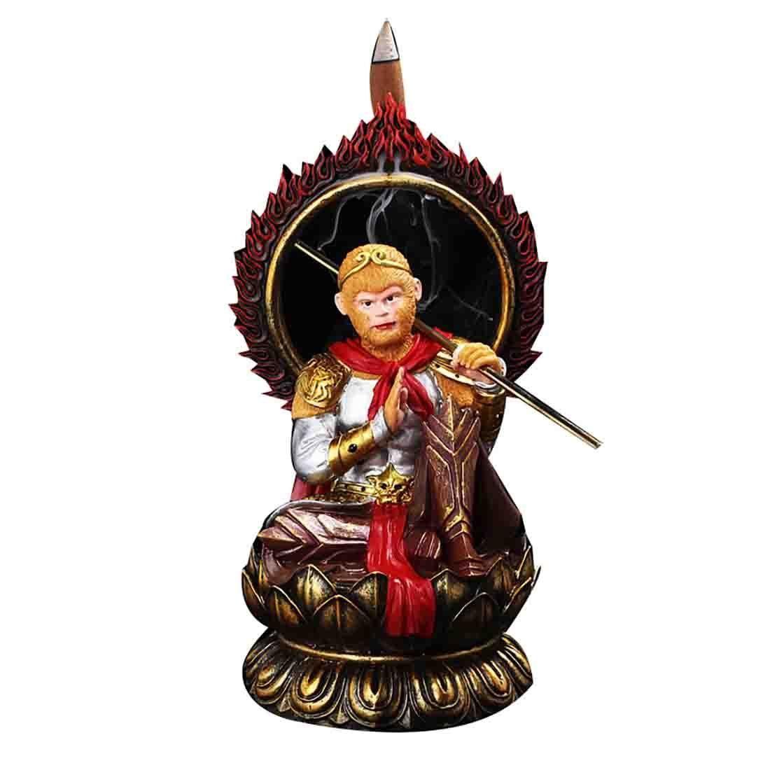 Incense burner chinese mythology Sun Wukong Monkey