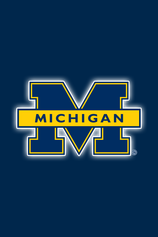 Get A Set Of 24 Officially Ncaa Licensed Michigan Wolverines Iphone Wallpapers Sized Precisel Michigan Go Blue Michigan Wolverines Michigan Wolverines Football