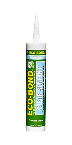 Eco-Bond Clr 125 Ultra Clear Primer-Less Sealant, 10.1 Ounces, 2015 Amazon Top Rated Silicone Adhesives #HomeImprovement