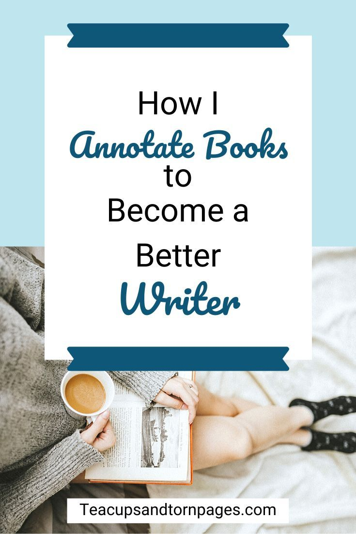 How i annotate books to a better writer in 2020