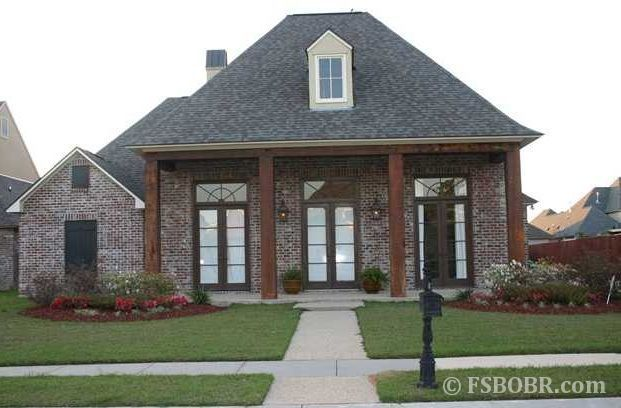 South louisiana acadian style homes bing images house for Home plans louisiana