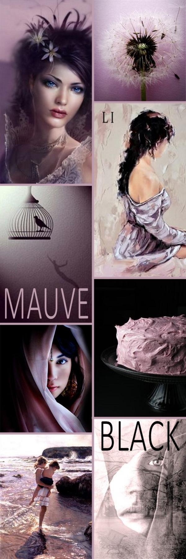 Lu's Inspiration ღ Mauve and Black