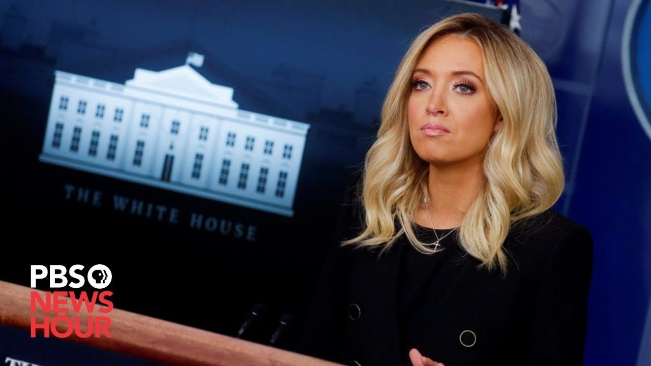 Watch Live Press Secretary Kayleigh Mcenany Holds White House Press Bri In 2020 Kayleigh Mcenany White House Pbs Newshour