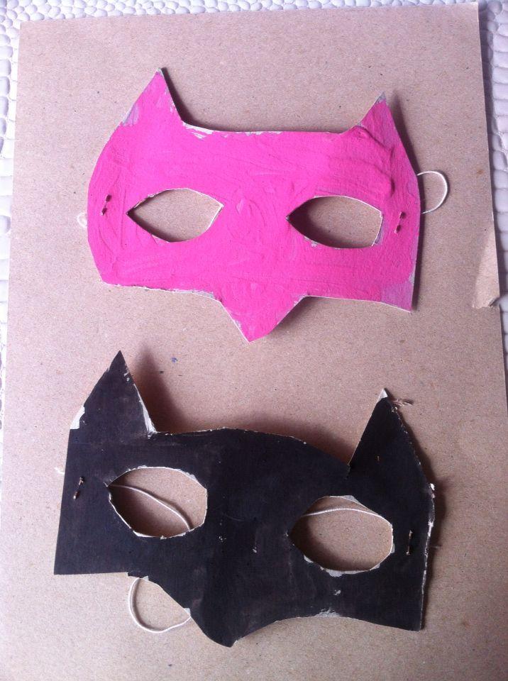 Masque batman et batwoman
