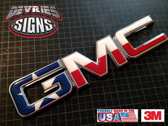 Precut Gel Coated Domed Emblem Overlay Compatible With Gmc Etsy Gmc Chevy Bowtie Emblem Emblems