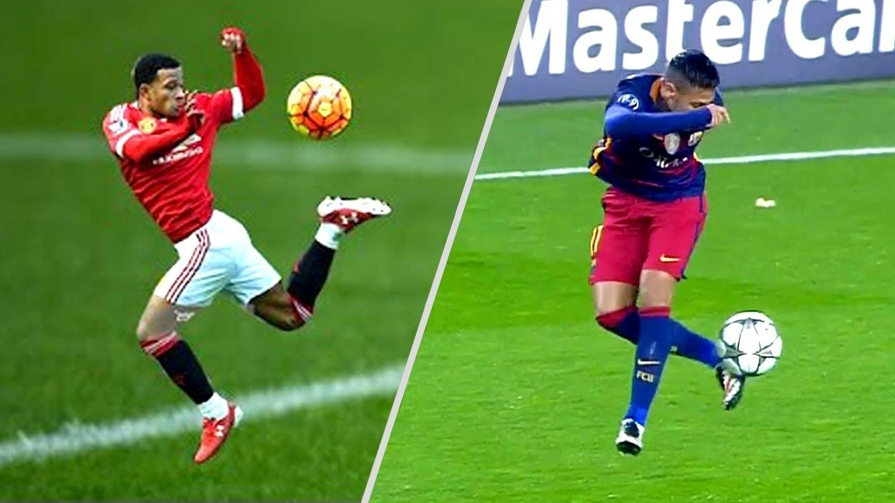 Most Epic Ball Controls In Football Amazing First Touch