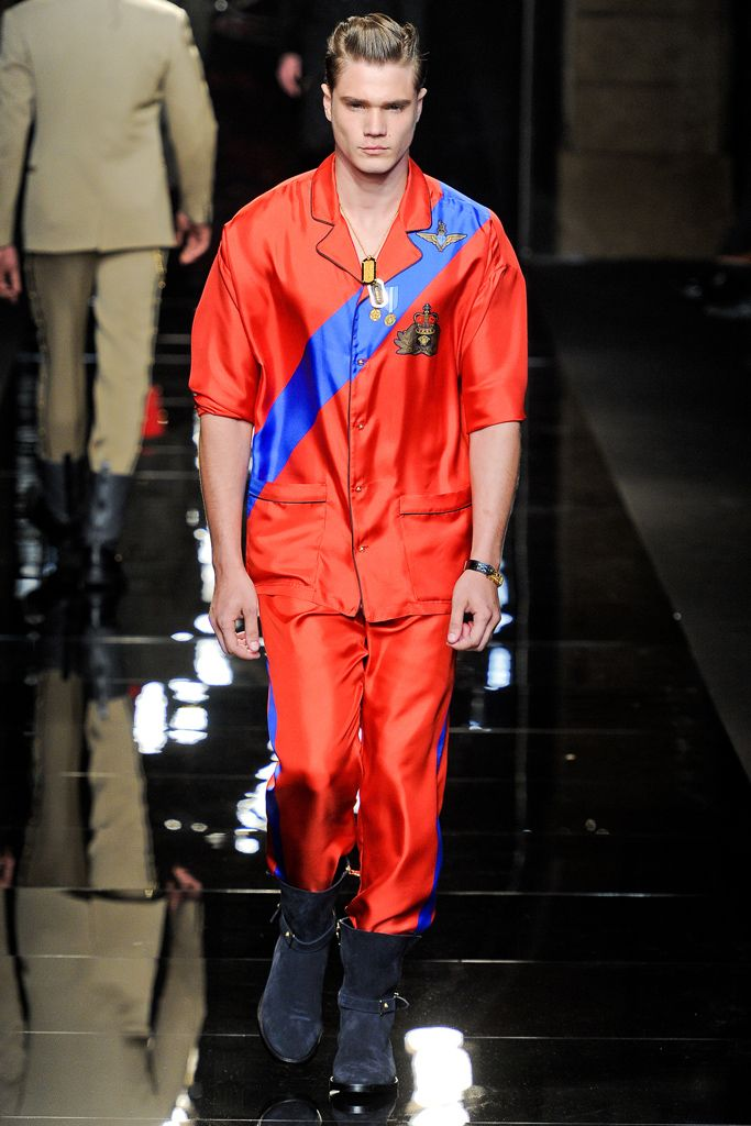 Versace | Fall 2012 Menswear Collection | Style.com