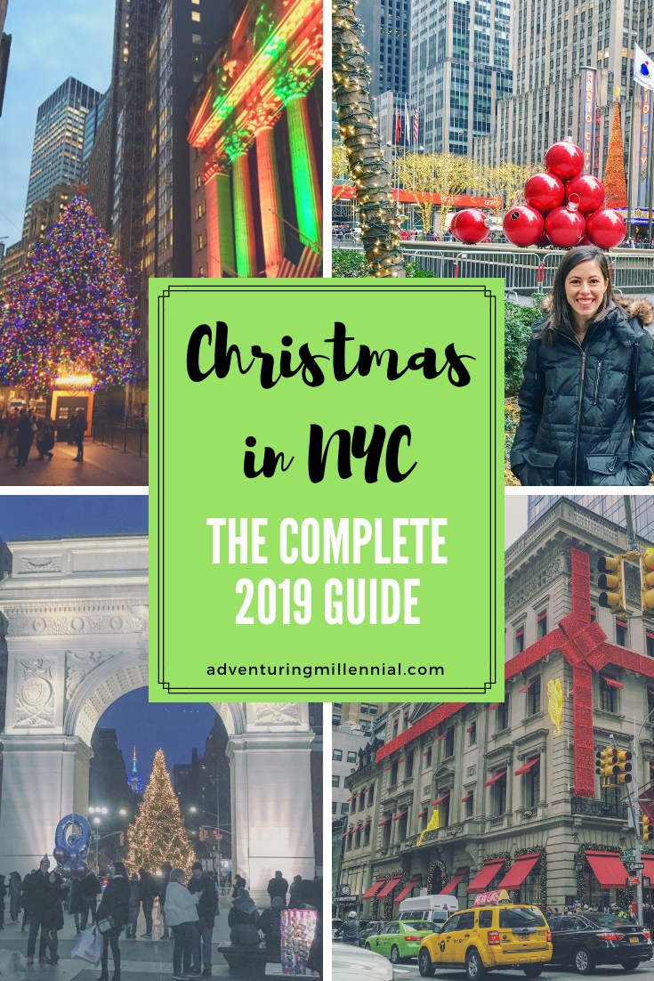 NYC Christmas Events The Complete Guide (With images