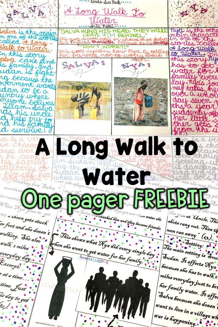 How To Teach A Novel Study Unit On A Long Walk To Water Novels