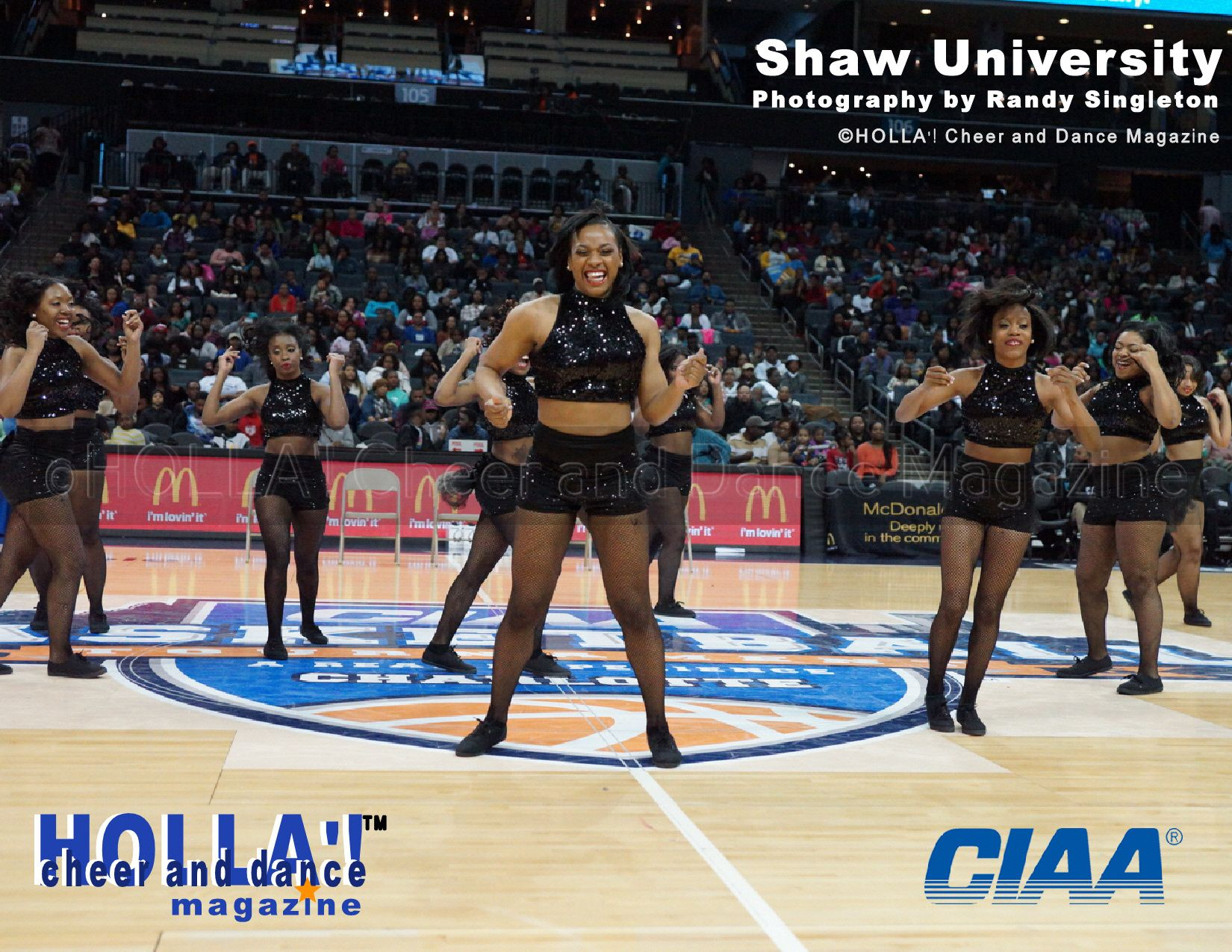 Shaw university see more ciaa cheerleading exhibition