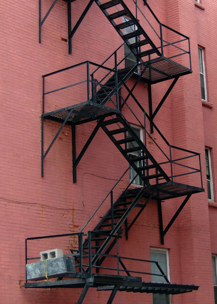 Best Lessons 11 Face Your Fears With Images Fire Escape 400 x 300